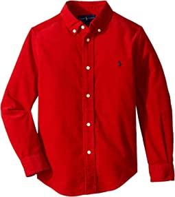 Polo Ralph Lauren Kids - Cotton Corduroy Sport Shirt (Little Kids/Big Kids)