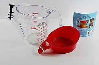 Chefsperience 2-Cup Gravy Fat Separator Strainer