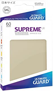 Ultimate Guard Supreme Japanese UX Card Sleeves (60 Piece), Sand