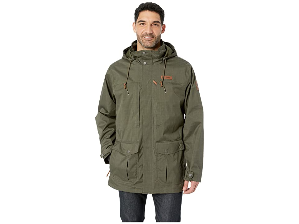 Columbia Horizons Pinetm Interchange Jacket (Peatmoss/Mosstone) Men