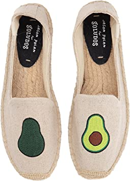 Soludos - Avocado Platform Smoking Slipper