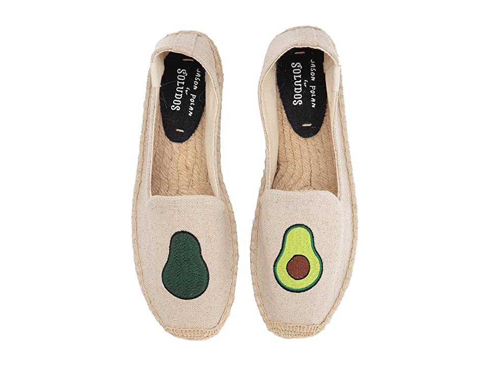Soludos Avocado Platform Smoking Slipper (Sand) Women