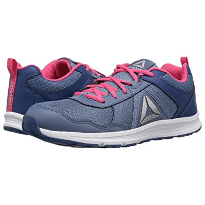 Reebok Kids Almotio 4.0 (Little Kid/Big Kid) (Blue/Slate/Pink/Steel) Girls Shoes