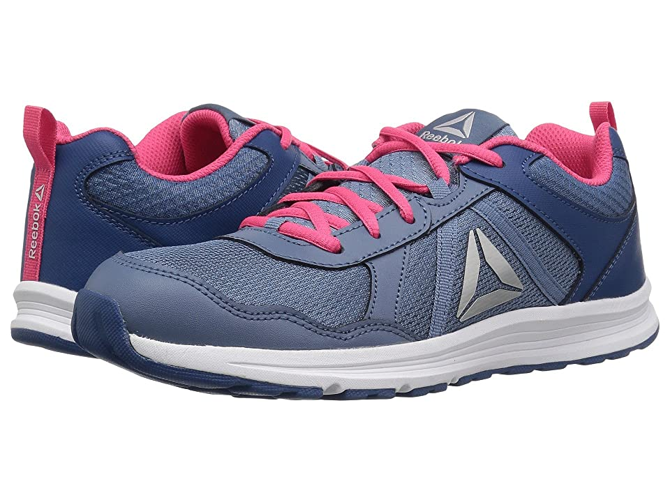 Reebok Kids Almotio 4.0 (Little Kid/Big Kid) (Blue/Slate/Pink/Steel) Girls Shoes