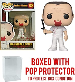 Pop! Movies: Silence of The Lambs - Silence of The Lambs, Hannibal Bloody w/Night Stick Vinyl Figure (Includes Pop Box Protector Case)