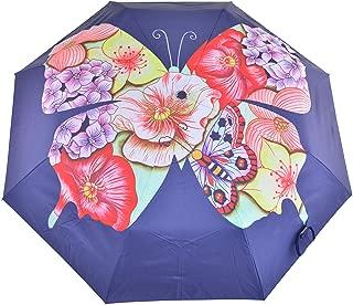 "Umbrella AUTO Open/Close | UPF 50+ | 38"" Waterproof Windproof Canopy"
