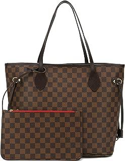 Leather Top Handle Handbags Satchel Shoulder Bag Tote...