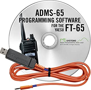 RT Systems Programming Software USB-55 Cable Yaesu FT-65 Dual Band HT