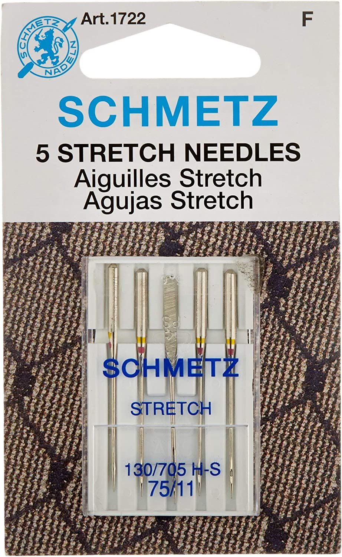 5 Schmetz Stick agujas 130//705 h-e grosor 75-90
