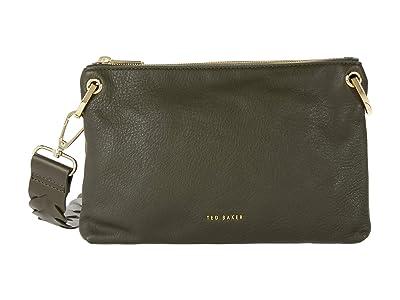 Ted Baker Pheoba Crossbody (Khaki) Cross Body Handbags