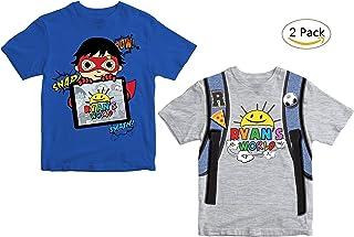Ryan's World 2 Pack T-Shirts