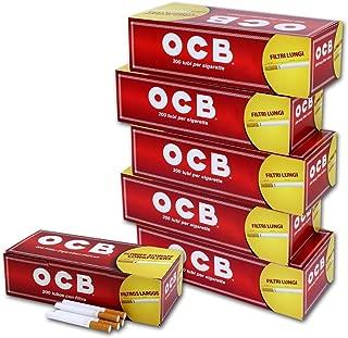 1000 tubos de filtro largo OCB 5x200