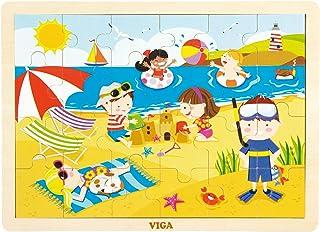 VIGA 24 pcs  Puzzle - Summer