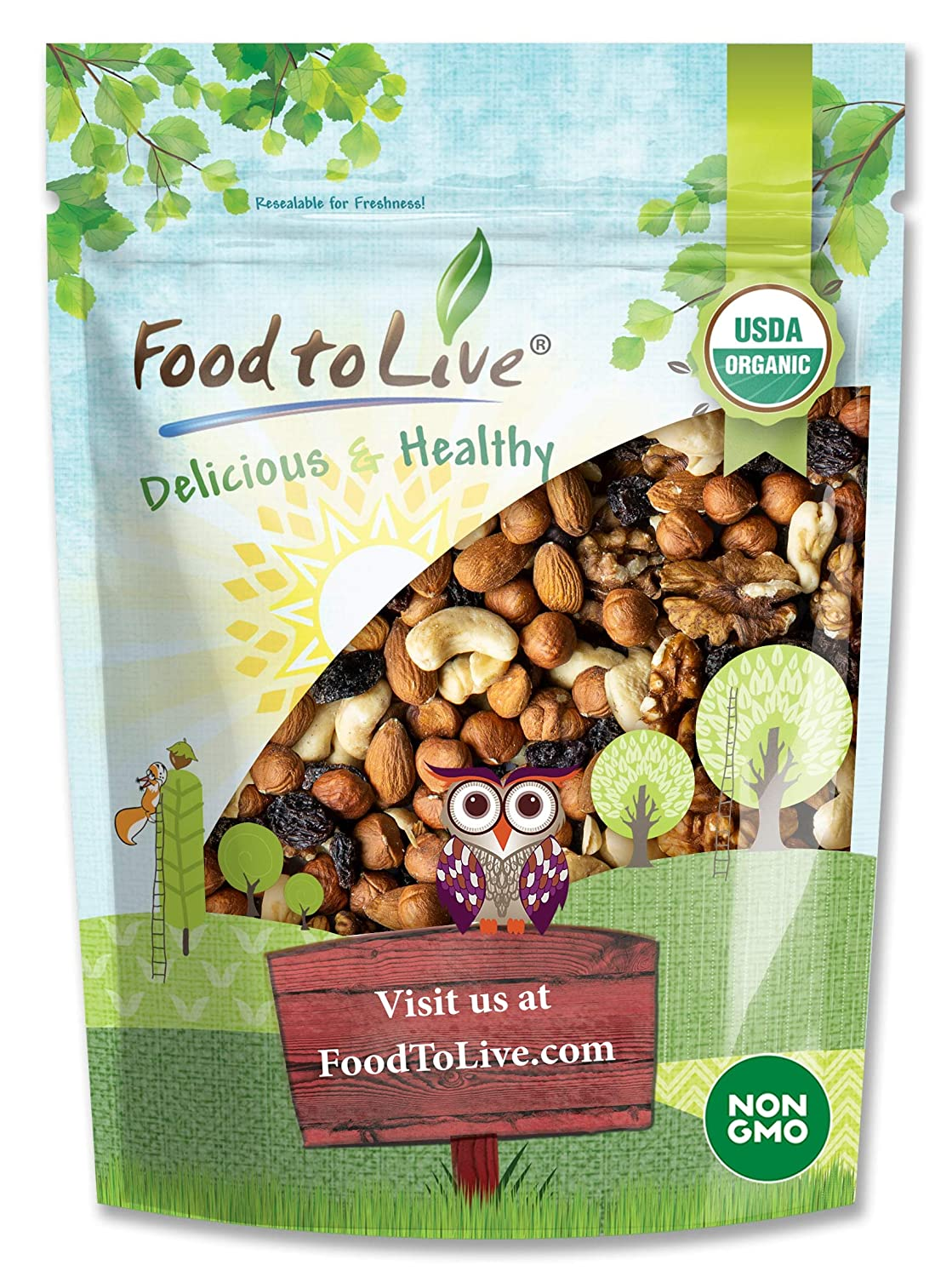 Organic Go Some reservation Raw Trail Mix 4 Snack and Selling Non-GMO C Pounds -