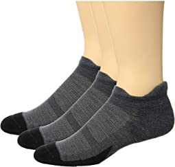 Merino 10 Cushion No Show Tab 3-Pair Pack