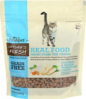 Freshpet, Cat Food Nature's Fresh Chicken Egg, 16 Ounce