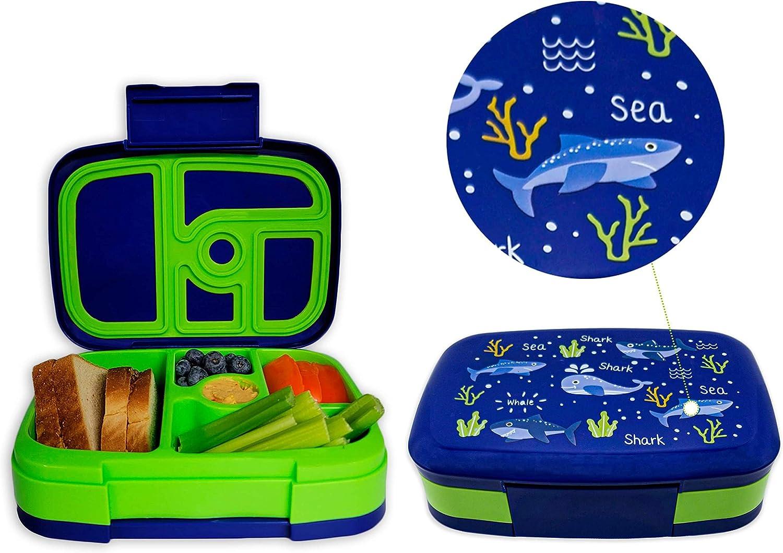 SainJoy Kids Bento Style Lunch Box Ranking TOP1 for San Francisco Mall Lun