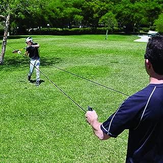 Mangjiu 野球 練習 野球用品 野球道具 少年 女子 大人 野球のための野球トレーナーとソフトボールトレーナー野球ストライクトレーニングツール (黒)