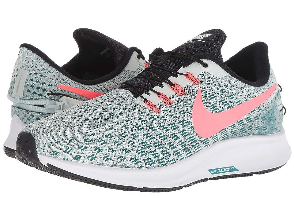 Nike Air Zoom Pegasus 35 FlyEase (Barely Grey/Hot Punch/Geode Teal/Black) Women
