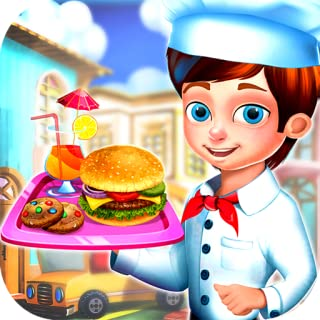 Street Food Truck Festival - Cook and Serve up delicious food to your customers with this fun game!