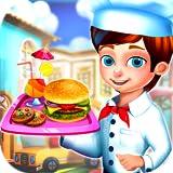 Straße Essen LKW Festival - Kochen und servieren Sie Ihren Kunden köstliche Speisen mit diesem lustigen Spiel!