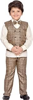 AJ Dezines Kids Indian wear Bollywood Style Shirt Waistcoat and Pant Clothing Set for Baby Boys
