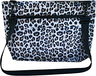 Snapster Snap On Tote Bag for Walker, Stroller or Shopping Cart (Cheetah)