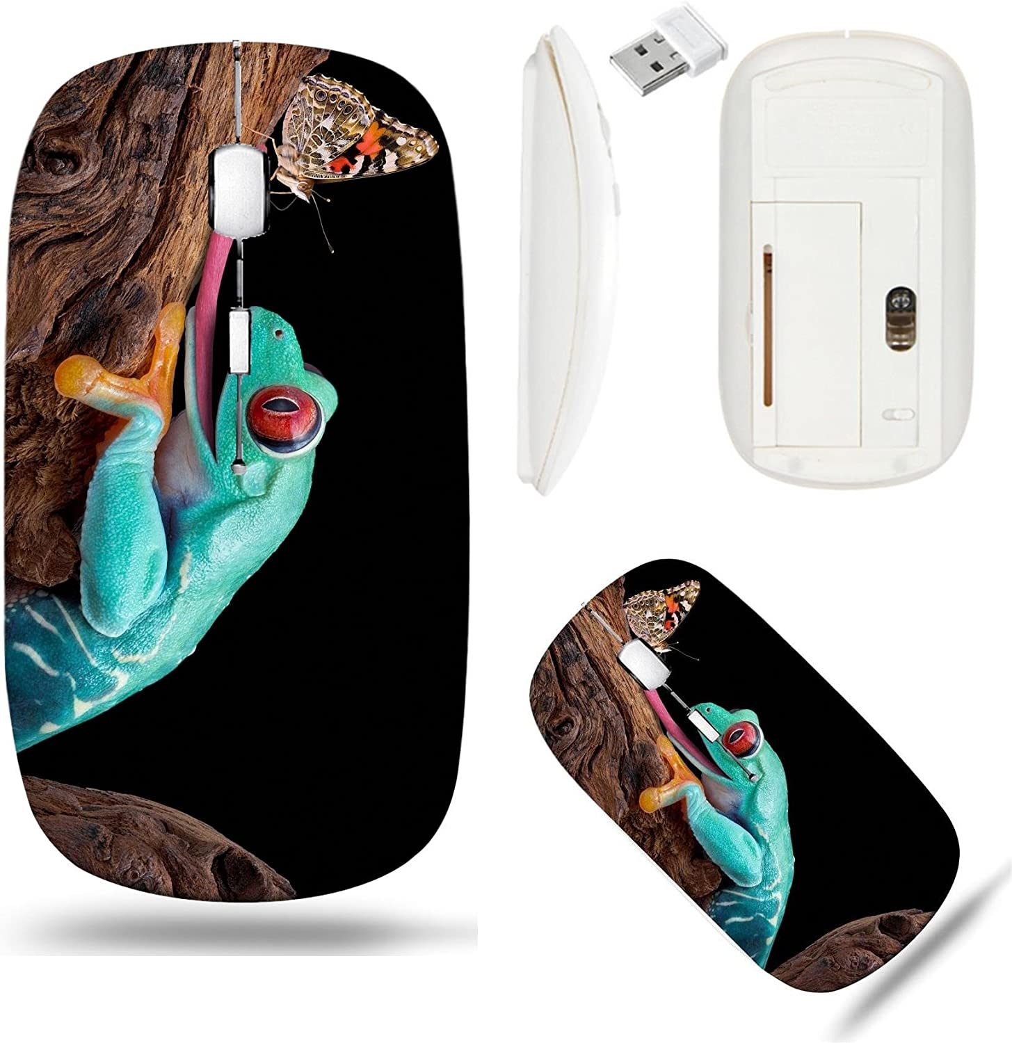Liili Wireless Mouse White Base Travel 2.4G Challenge the lowest price of Japan U Mice with Ranking TOP3
