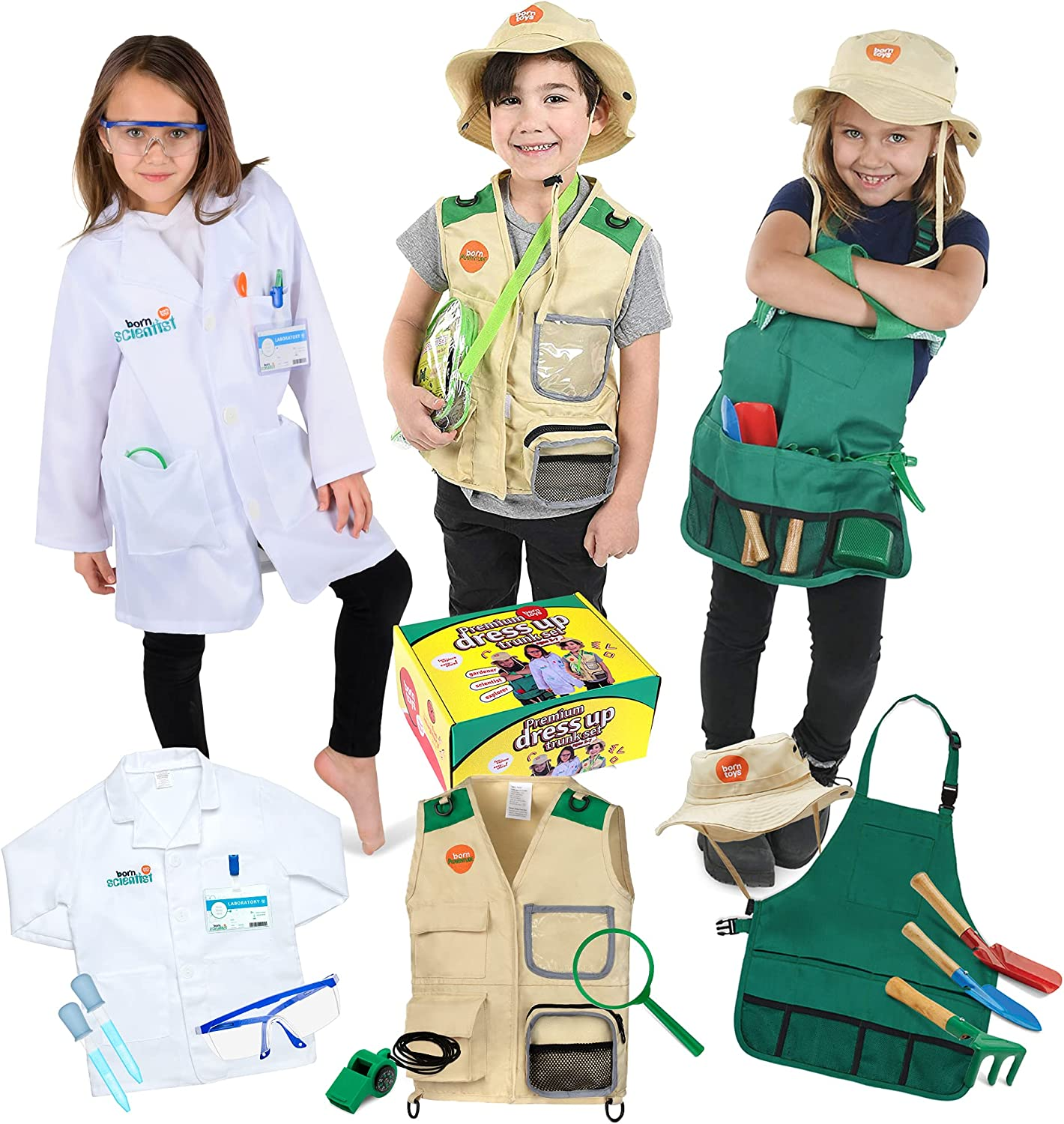 Max 76% OFF Born Toys Dress Up Pretend Play service Premium Kids S 3-in-1 Costumes