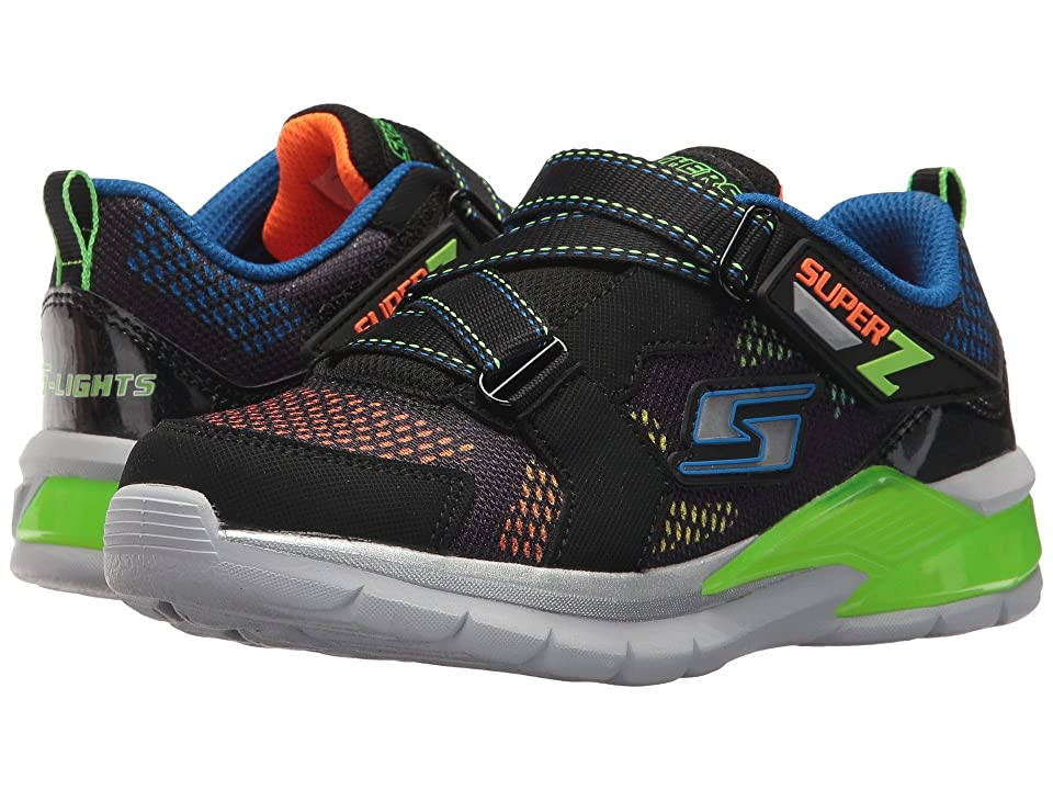 SKECHERS KIDS Erupters II Tephra 90552L Lights (Little Kid/Big Kid) (Blue/Black/Lime) Boys Shoes