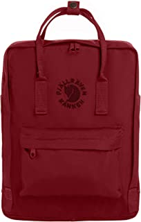 Fjallraven - Re-Kanken Recycled and Recyclable Kanken Backpack for Everyday, Ox Red