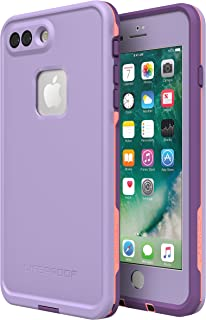 Lifeproof FRĒ SERIES Waterproof Case for iPhone 8 Plus & 7 Plus (ONLY) - Retail Packaging - CHAKRA (ROSE/FUSION CORAL/ROYAL LILAC)
