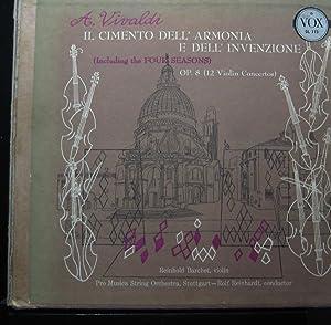 Rolf Reinhardt, Reinhold Barchet, Pro Music String Orchestra - Vivaldi: Il Cimento Dell' Armonia E Dell' Invenzione - Lp Vinyl Record