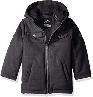 iXtreme Boys' Quilted Wool Puffer Jacket