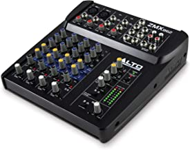 Alto Professional ZMX862 | Studio Quality 6 Channel Compact Audio Mixing Desk with Two XLR Microphone Inputs, Two Stereo I...