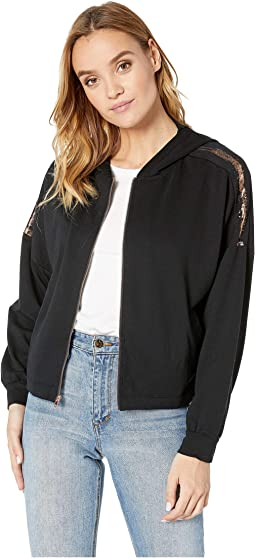 Studio Batwing Zip-Up Jacket