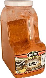 Prima Spice Hot Cayenne Pepper - 5 Lb Bulk Kitchen Jug - 60000 Heat Unit