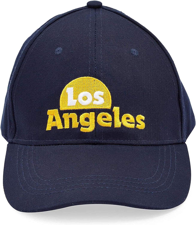 Baseball Caps for Men and Women, Los Angeles, Miami, New York (3 Pack) Black