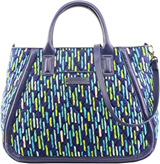 Gorgeous Vera Bradley Trapeze Tote Bag in Katalina Showers