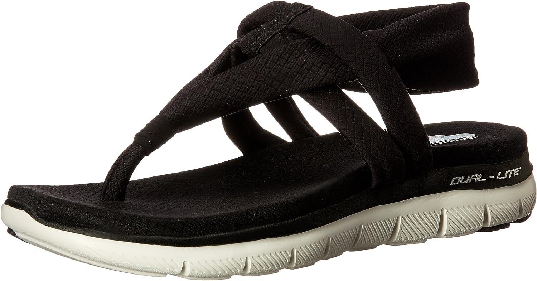 Skechers Womens Flex Appeal 2.0 - Studio Time Sport Sandal