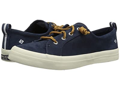 Sperry Crest Vibe Washable Leather (Navy) Women