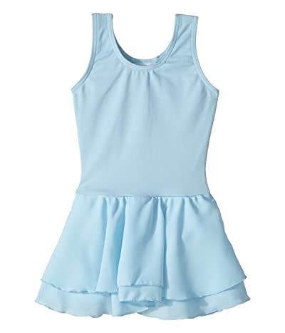 Capezio Kids Classic Double Layer Skirt Tank Dress (Toddler/Little Kids/Big Kids) (Light Blue) Girl