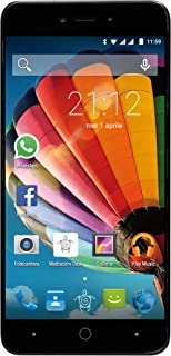 Mediacom PhonePad Duo G515 SIM Doble 8GB Negro, Oro - Smartphone (12,7 cm (5