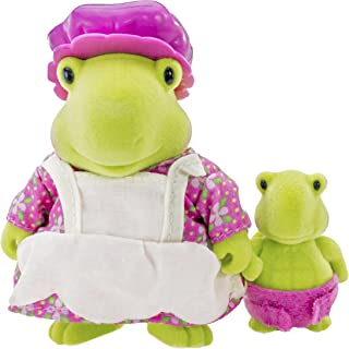 Lil Woodzeez Sally and Bubbles Tidyshine Turtle Dolls
