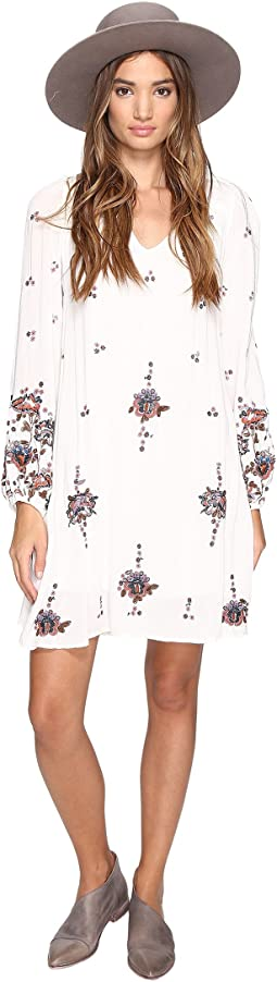 Free People - Oxford Embroidered Mini