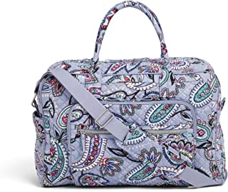 Vera Bradley womens Iconic Weekender Travel Bag, Signature Cotton