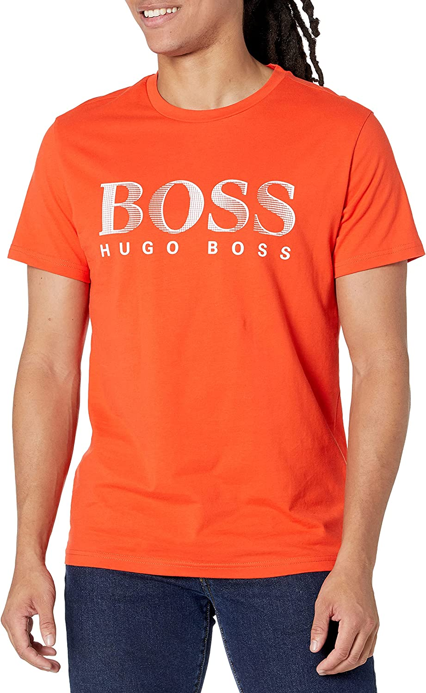BOSS Men's Standard Swim Rn T-Shirt