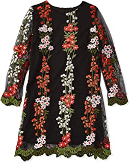Iconic A Line Dress for Girls - Multi Color