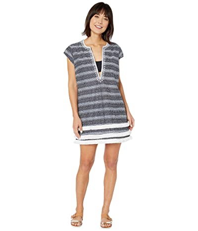 Bleu Rod Beattie Take A Dip Sheath Dress Cover-Up (Navy/Multi) Women