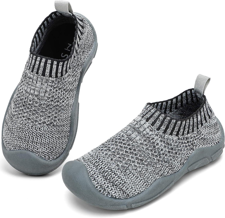 STQ Toddler Boys & Girls Sneakers for Kids Athletic Tennis Walking Running Shoes